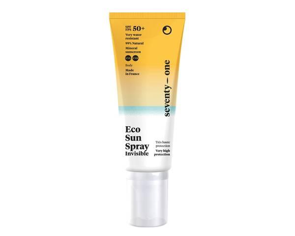 Bilde av SPF50+ solkrem spray - INVISIBLE, 100ml/ SeventyOne Percent