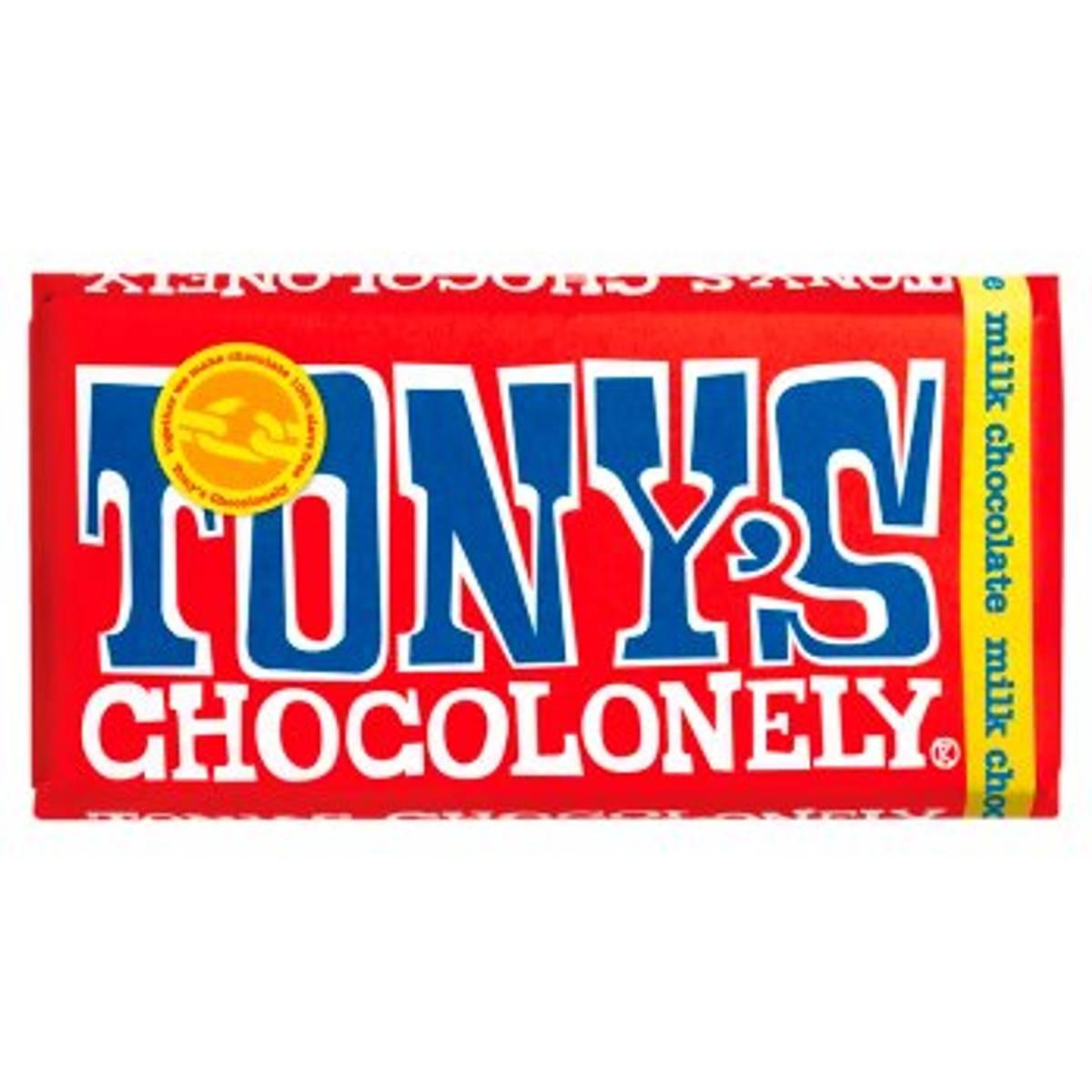Melkesjokolade 180g, Fair Trade / Tony´s Chocolonely