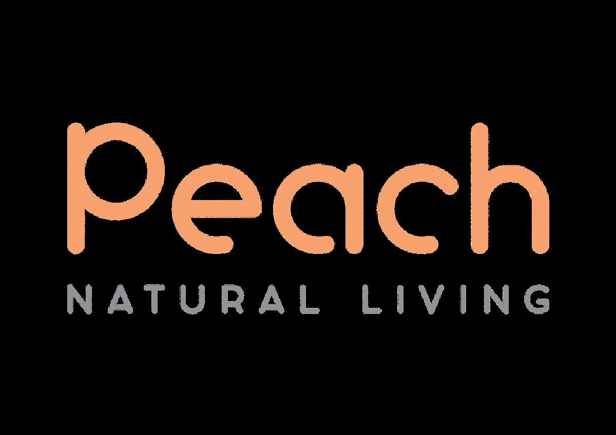 6 stk sugerør i silikon m/vaskebørste / Peach