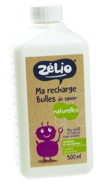 Bilde av Refill såpebobler 500 ml, økologisk / Zélio