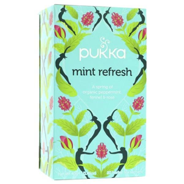 Bilde av Mint Refresh, økologisk te / Pukka