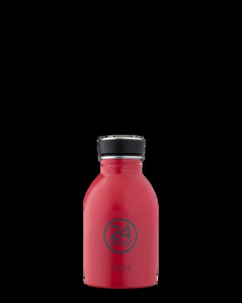 Bilde av Urban 250 ml drikkeflaske i stål, Hot Red