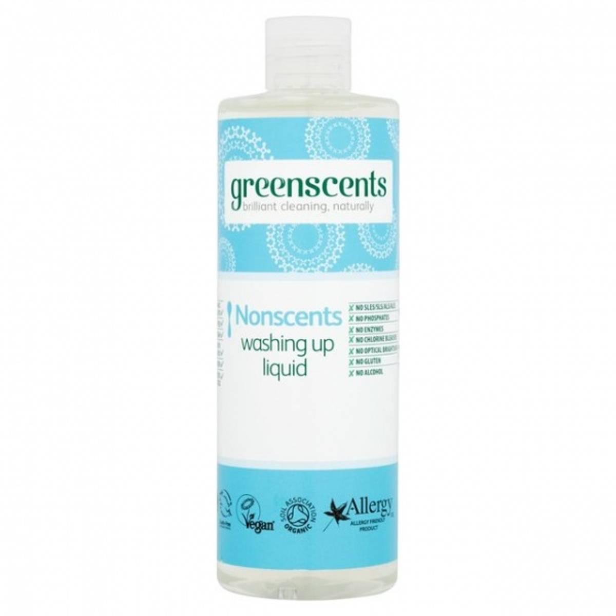 Oppvasksåpe DUFTFRI 400 ml / Greenscents