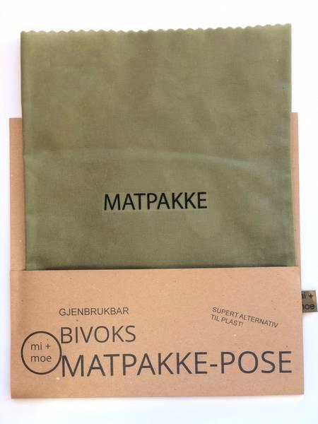 Bilde av Matpakkepose, Grønn / Mi + Moe