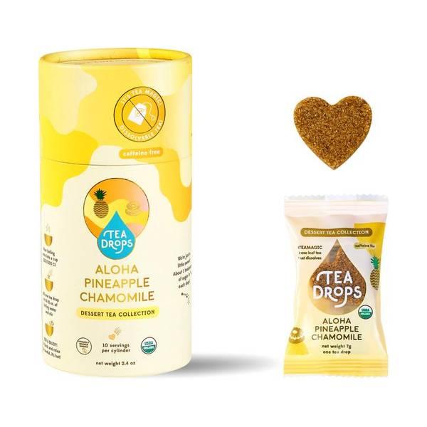 Bilde av 10 stk Aloha Pineapple Chamomille, økologisk te i tube / Tea Dro