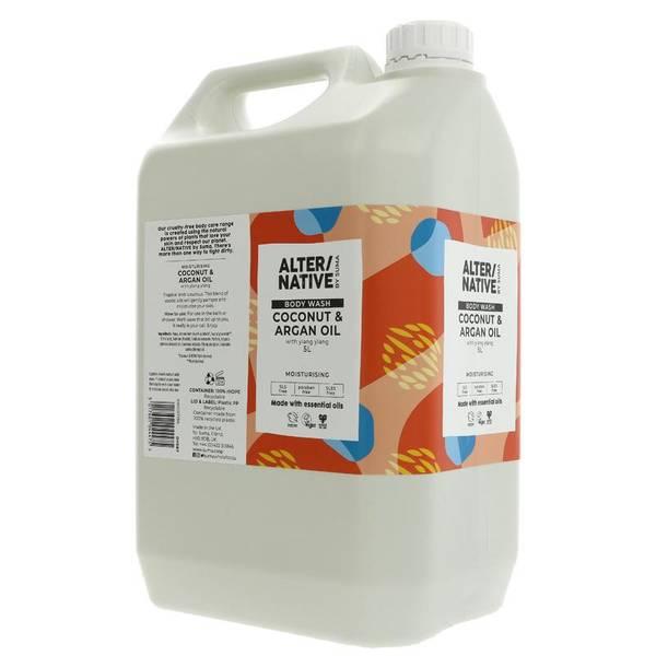 Bilde av 5L flytende dusjsåpe Coconut & Argan Oil / Alter/native
