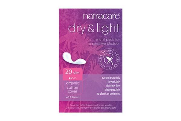 Bilde av 20 stk inkontinensbind Dry & Light / Natracare