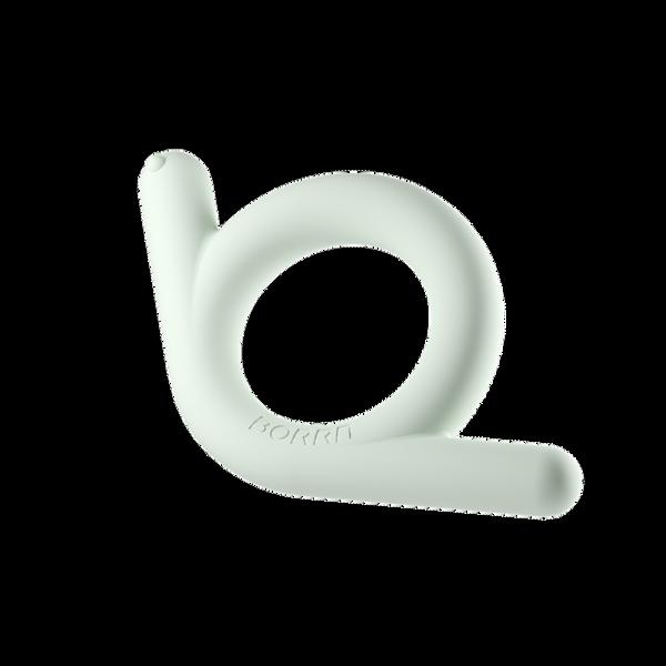 Bilde av Bitering i silikon: SNEGLE, grønn / BORRN