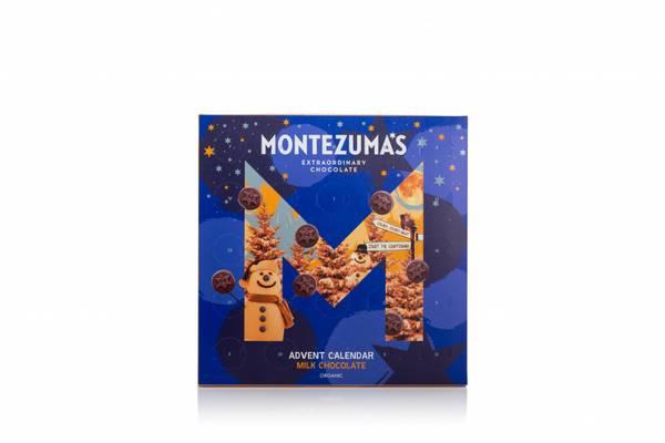 Bilde av Sjokoladekalender med melkesjokolade, 240g / Montezumas