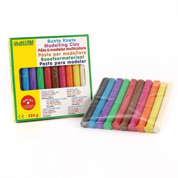 Bilde av Modellkitt i 10 ulike farger, 220g / ÖkoNORM