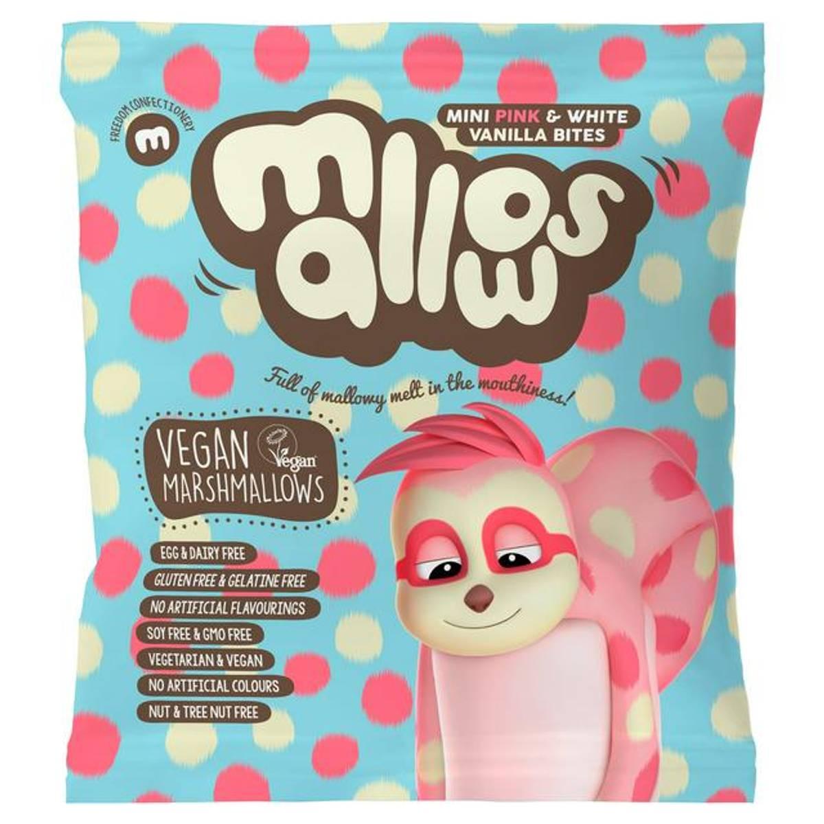 Pink & White minimarshmallows 75 g / Mallows