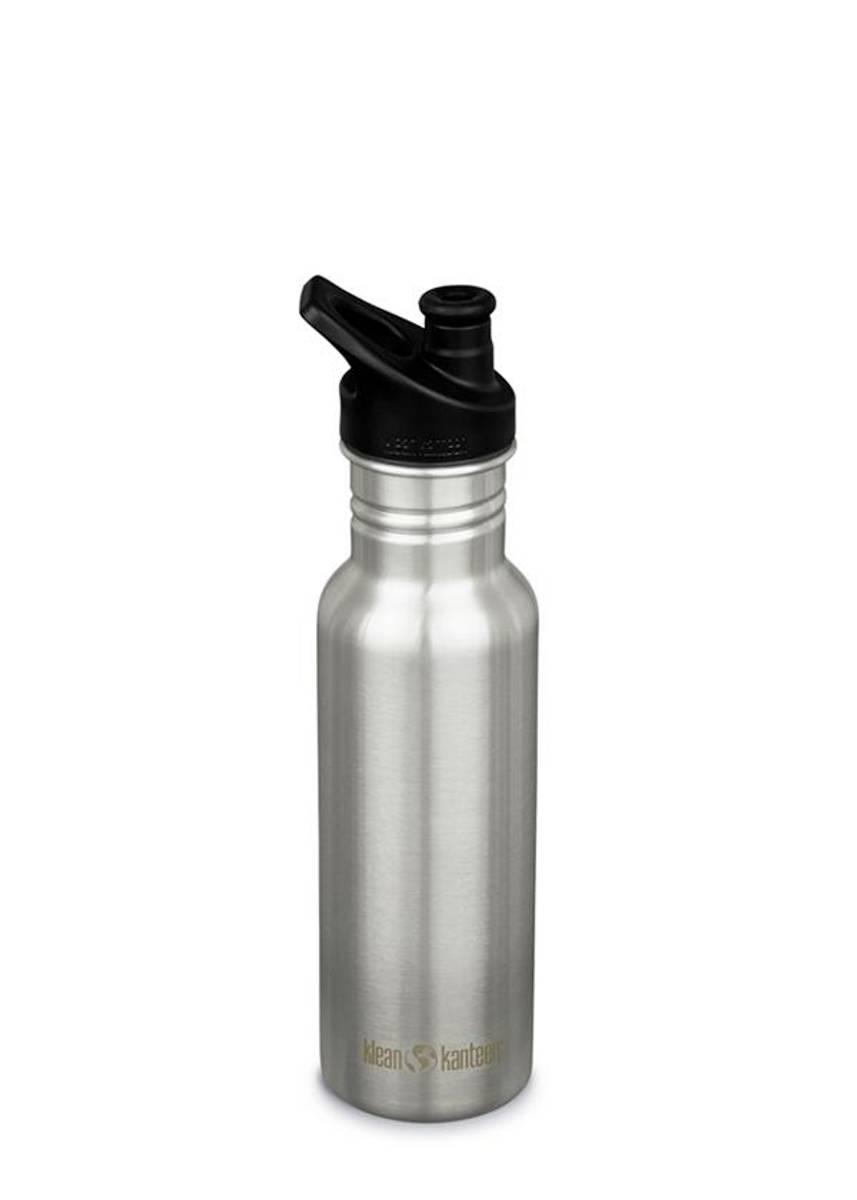 Drikkeflaske Sport 532 ml, Brushed Stainless / Klean Kanteen