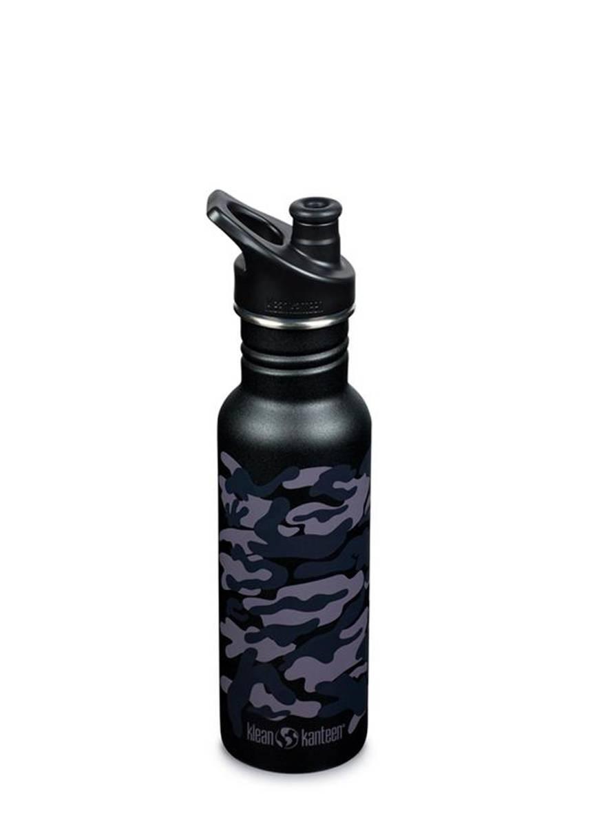 Drikkeflaske Sport 532 ml, Black Camo / Klean Kanteen