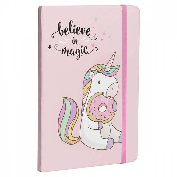Bilde av Belive in magic - rosa dagbok / Beeorganic