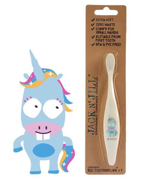 Bilde av Tannbørste til barn, Unicorn / Jack N´Jill