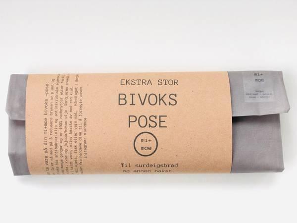 Bilde av Ekstra stor bivokspose, Lys Grå / Mi + Moe