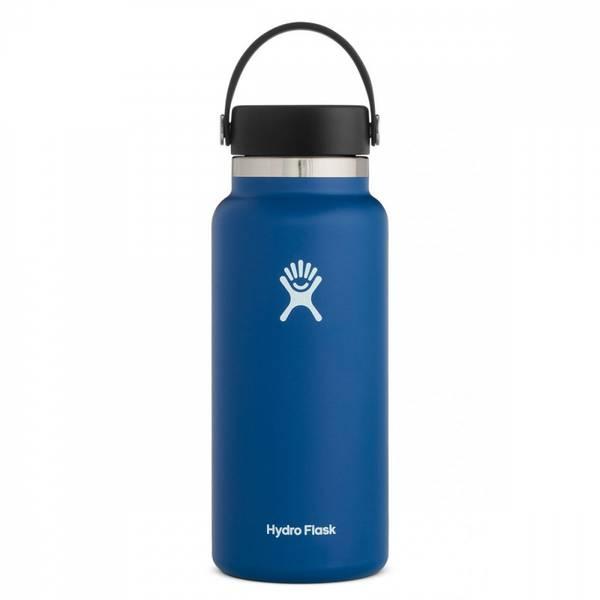 Bilde av Termoflaske 946 ml, COBALT ,Wide Mouth Flex Cap / Hydro Flask
